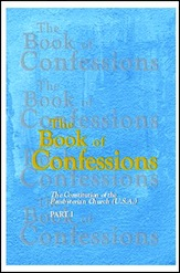 Photo of the cover of the Book of Confessions